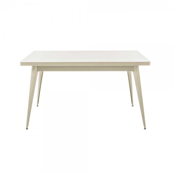 "Tolix Tisch ""Table 55"" in Creme"