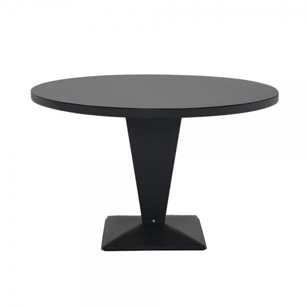 """Tolix Bistrotisch """"Table Kub"""" in Schwarz"""