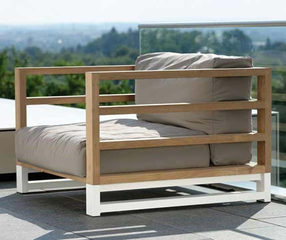 Outdoor m bel trends looks - Holzsessel garten ...