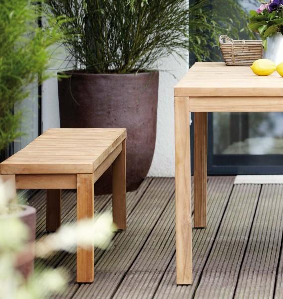 Gartenbank Teak Jan Kurtz Design