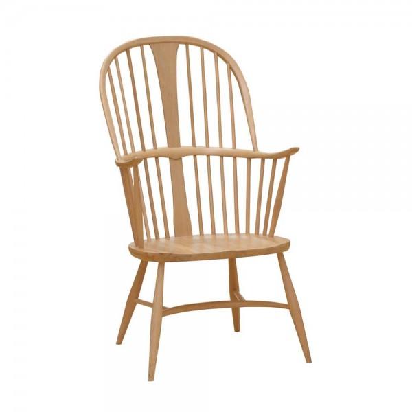 """Holzstuhl """"Chairmakers Chair"""" von ercol - aus naturfarbener Buche"""
