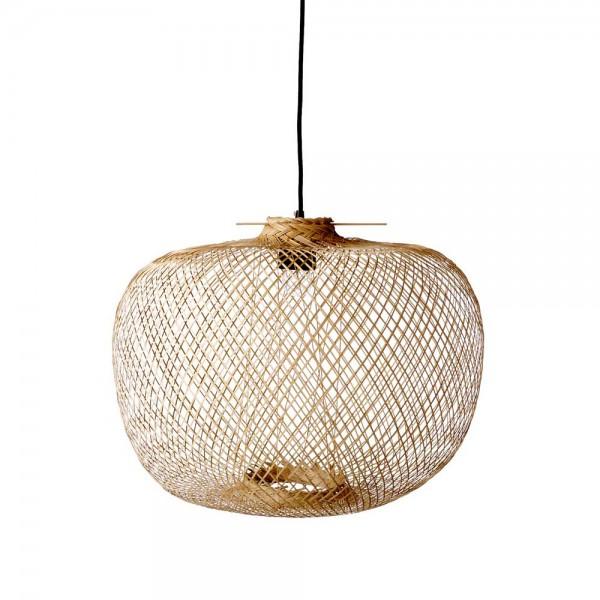 "Bloomingville Hängeleuchte ""Bamboo"" - aus Bambus"