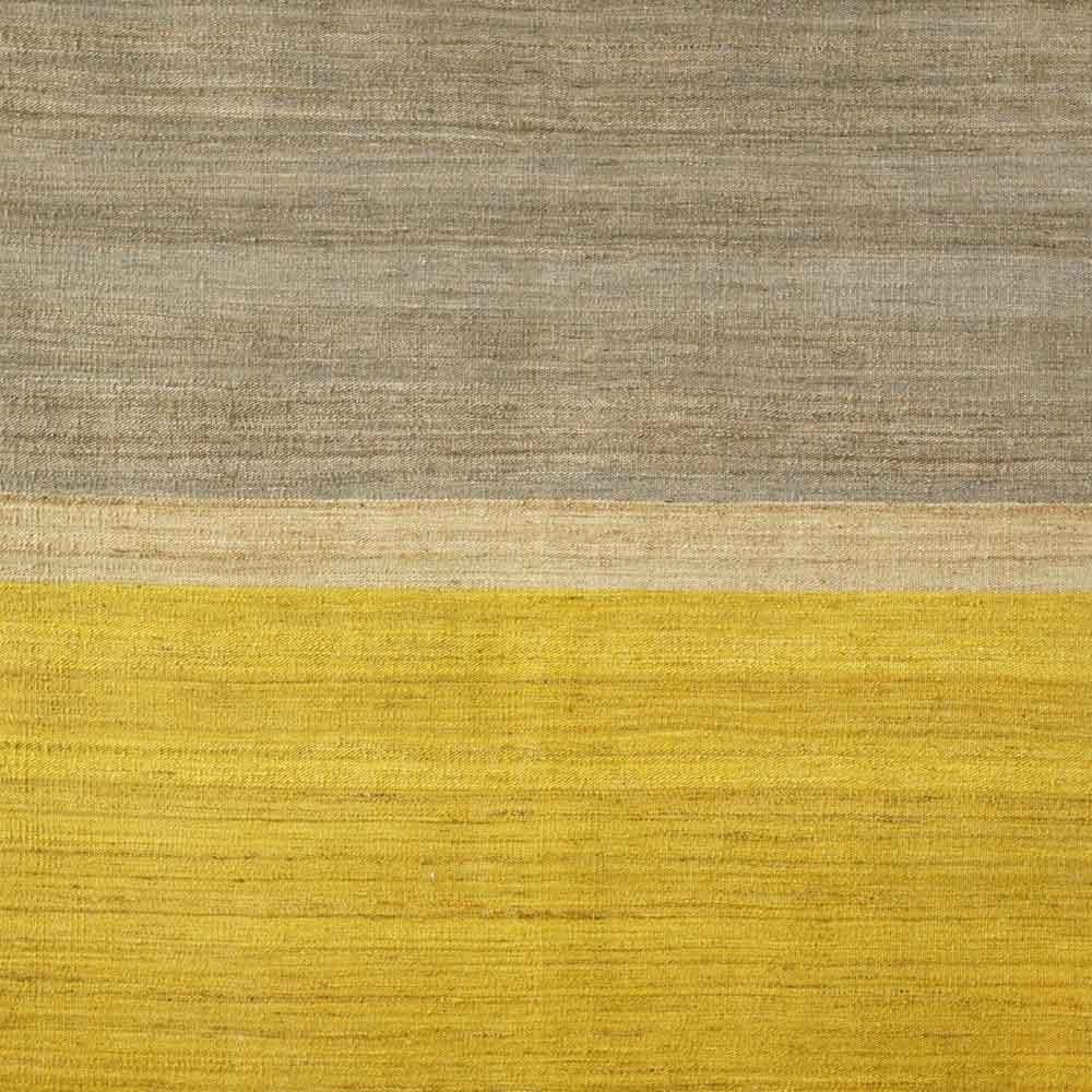 Teppich Senfgelb Teppich Gelb Grau Flachflor Teppich Indonesia