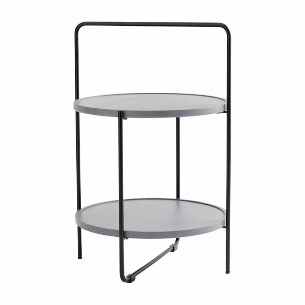 """Beistelltisch """"Tray Table"""" in Grau"""