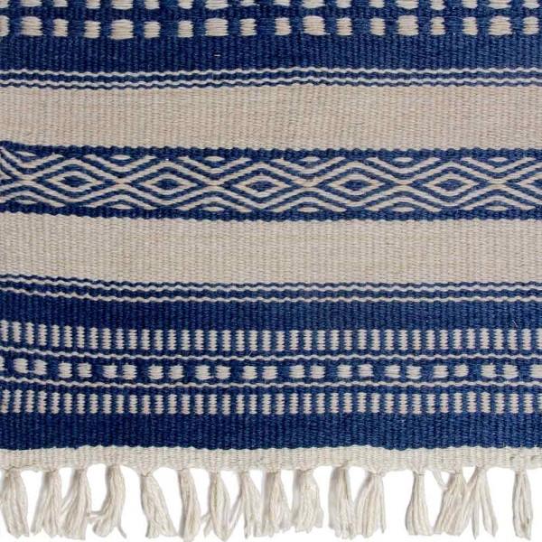 """Outdoor-Teppich """"Chatham"""" in Blau und Natur"""