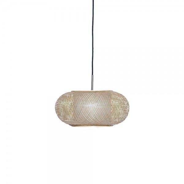 "Korblampe ""Mina"" - marokkanische Lampe aus Bambus"