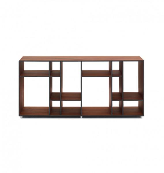ZEITRAUM Möbel Designerregal Code 4 Nuss