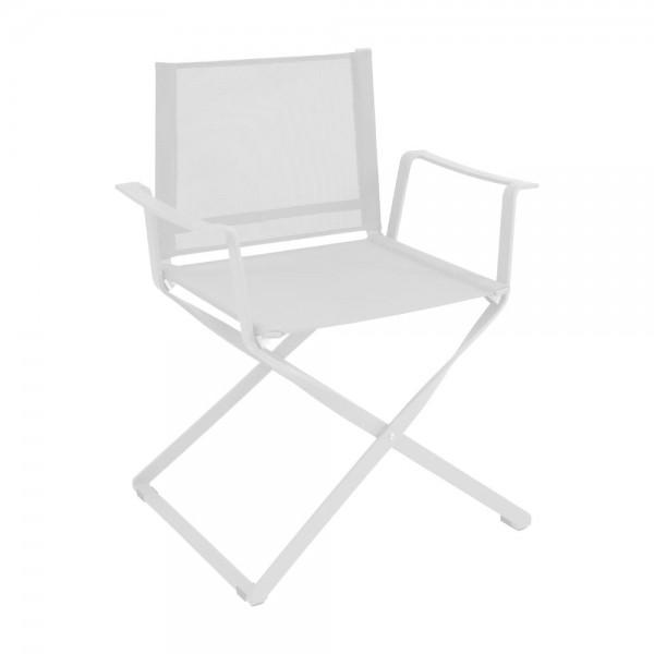 """Armlehnstuhl """"Ciak"""" von EMU - Klappstuhl in Weiß"""