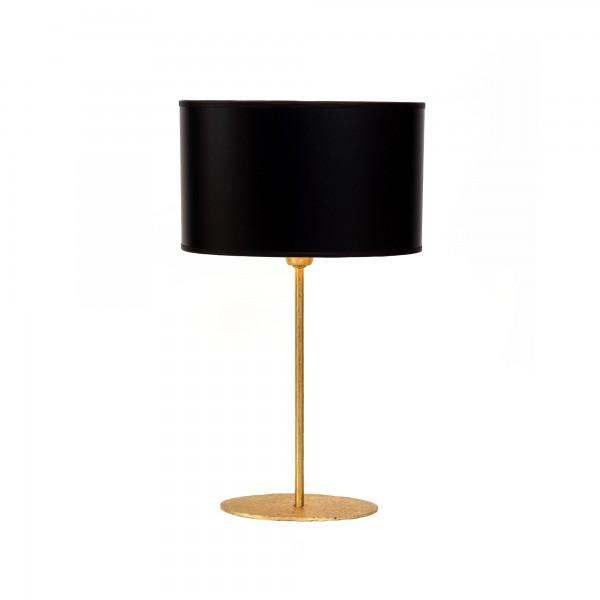 """Tischlampe """"Bonetti"""" (schwarz/gold)"""