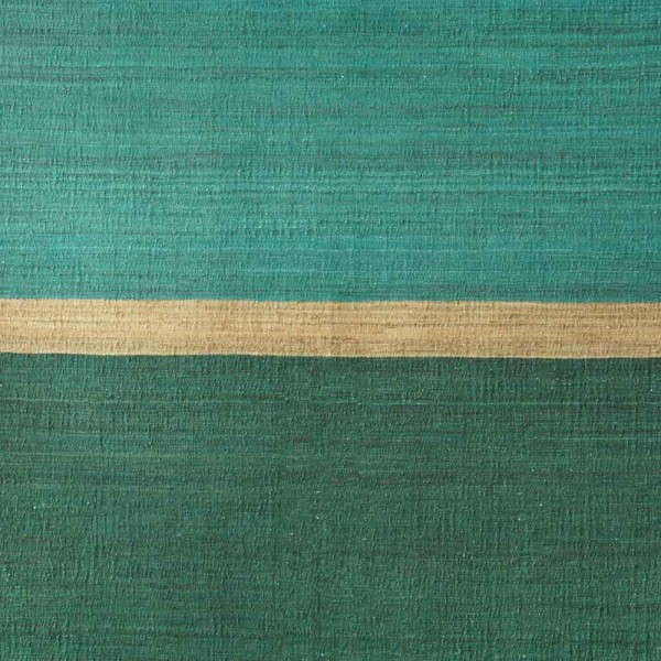 """Brita Sweden Hanfteppich """"Field"""" grün"""