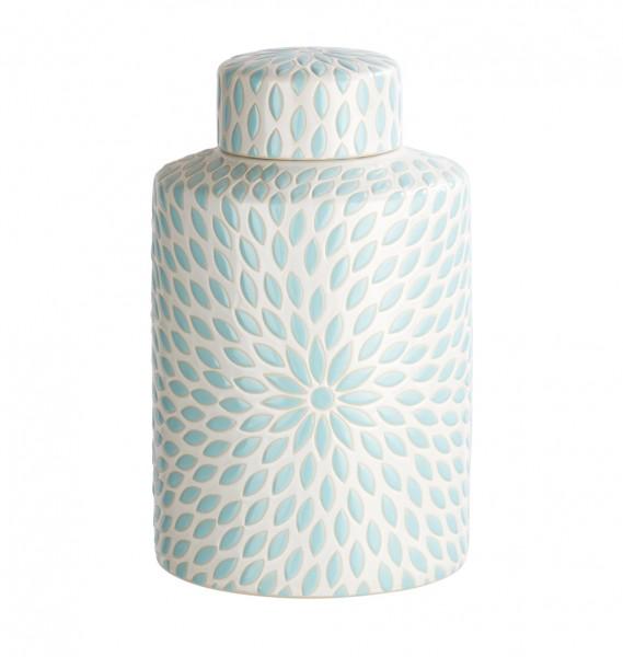 Tolle Deckelvase aus Keramik