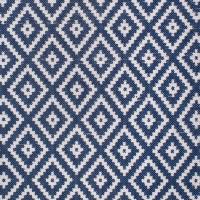"Outdoor-Teppich ""Corali"" in Blau-Weiß"