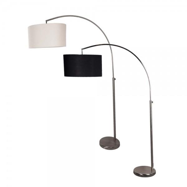 """Stehlampe """"Lore"""" aus Stoff und Metall"""
