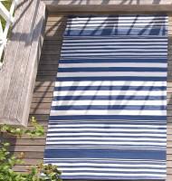 Teppich blau weiß gestreift  Outdoor-Teppich | Trendige Teppiche online bei milanari.com