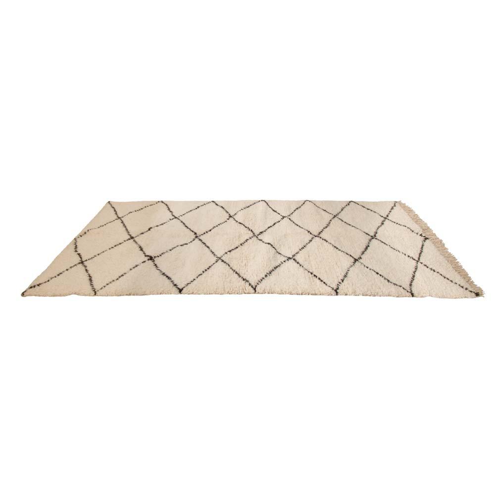 Beni Ouarain Wollteppich  marokkanischer Teppich