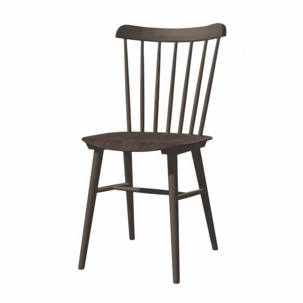 """Sprossenstuhl """"Ironica"""" aus graubrauner Eiche"""