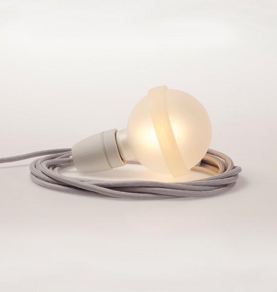 """Raumgestalt Designerlampe """"Lampa"""" mit grauem Kabel"""""""