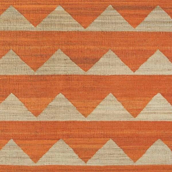 """Brita Sweden Teppich """"Arctic"""" in Orange"""