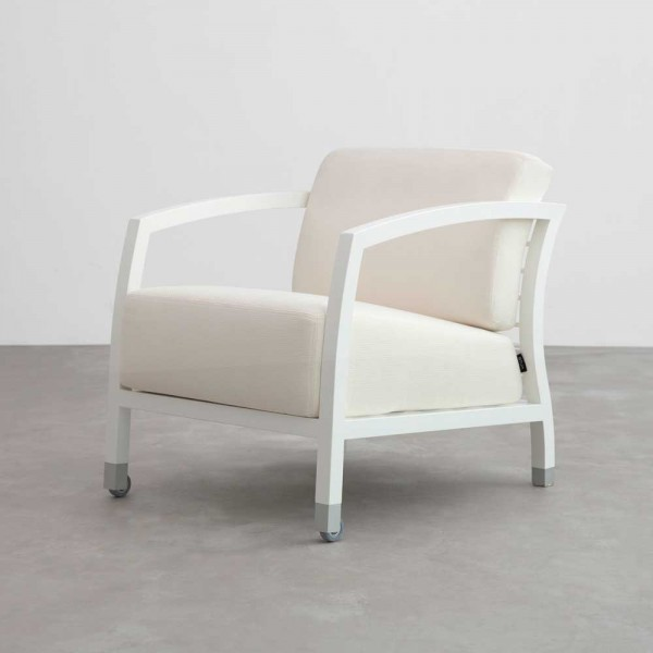 "Sessel ""Malena"" von STUA - in Weiß"