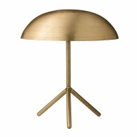 """Tischlampe """"Astrid"""" von Bloomingville - in Gold"""