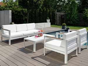 Loungesessel weiss outdoor  Loungemöbel Outdoor | attraktive Gartenmöbel