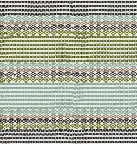 """Kunststoffteppich """"Knit"""" in Grün"""