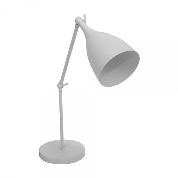 """Tischlampe """"Pauline"""" - aus weißem Metall"""