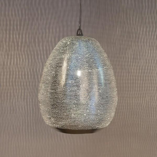 """Designerlampe """"Filli S"""" mit attraktivem Lochmuster - für tolles Lichtdesign"""
