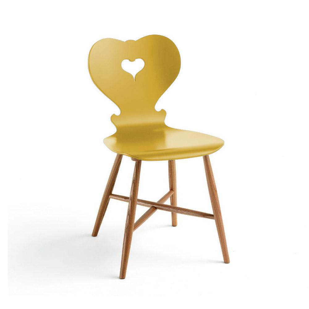 Moderner esszimmerstuhl in gelb for Moderner esszimmerstuhl