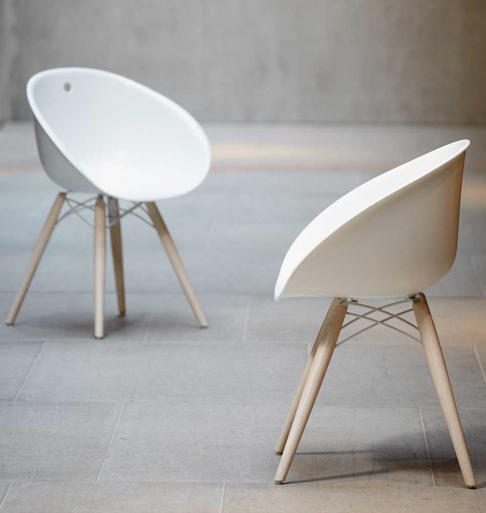 kunststoffstuhl gliss moderne st hle. Black Bedroom Furniture Sets. Home Design Ideas