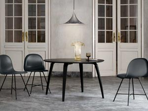 schwarze esstische holztische und metalltische. Black Bedroom Furniture Sets. Home Design Ideas