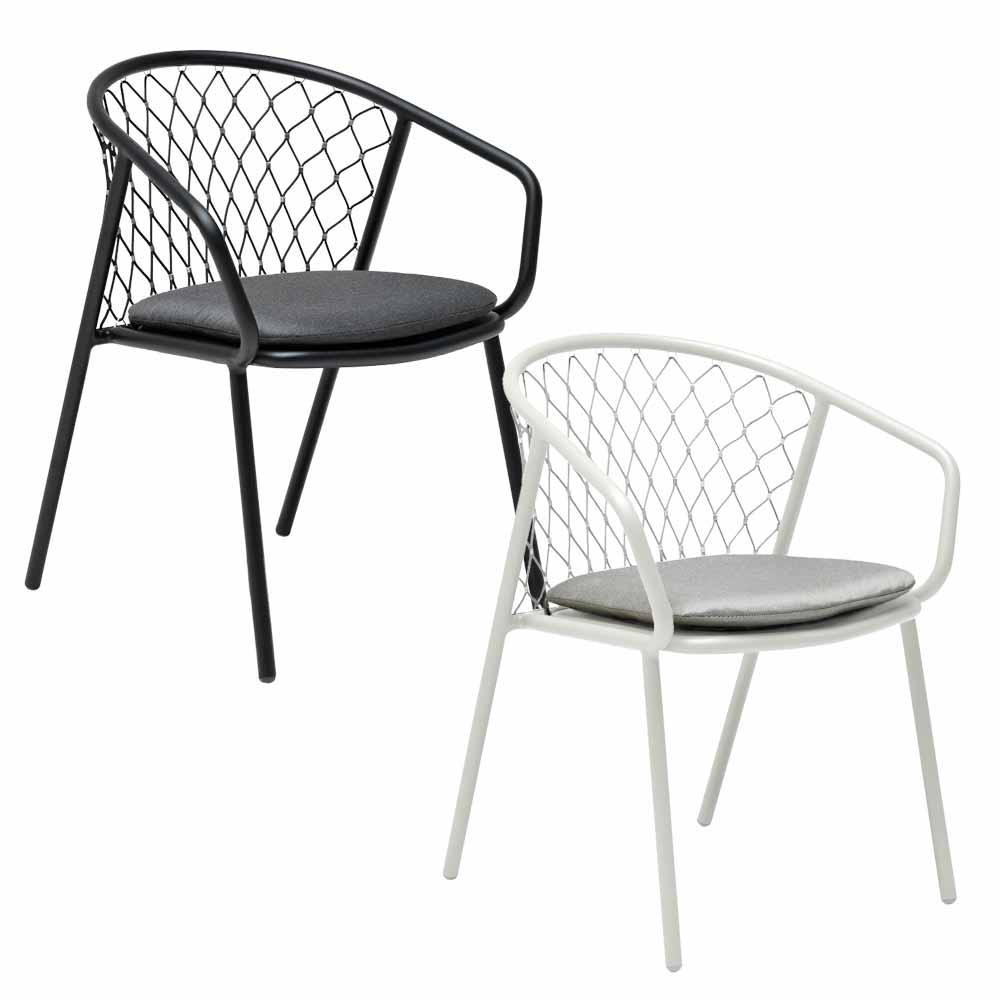 Schwarze Gartenstühle | Stühle | Top Kategorien | milanari.com