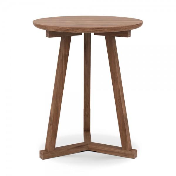 """Beistelltisch """"Tripod"""" von Ethnicraft - kleiner Holztisch aus Teak"""