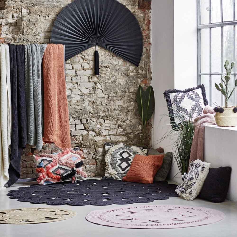 runder outdoor teppich in natur online bei. Black Bedroom Furniture Sets. Home Design Ideas