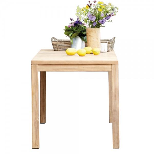 """Quadratischer Gartentisch """"Samoa"""" aus Teak von jankurtz"""