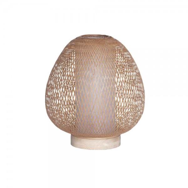 """Tischlampe """"Buhjah"""" - aus Bambus"""