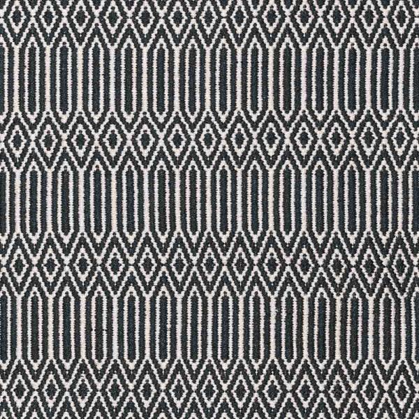 """Teppich """"Wik"""" von liv interior in schwarz"""