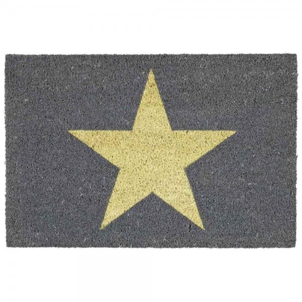 "GIFTCOMPANY Fußmatte ""Star"" aus Kokos"