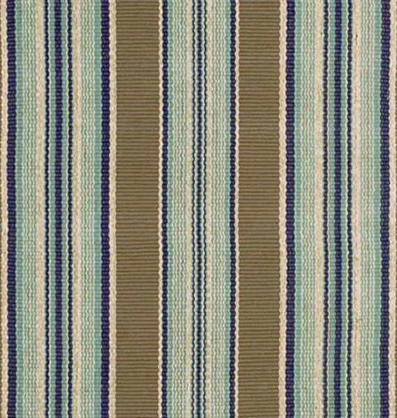 Gestreifter Teppich - Hingucker im Wohnbereich