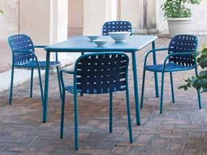 bunte gartenmöbel für balkon, garten & terrasse | milanari, Gartenarbeit ideen