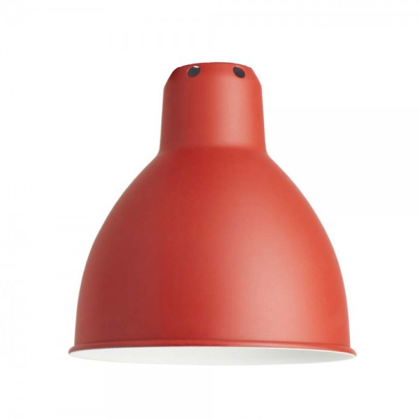 """Rote Architektenleuchte """"N°201"""" aus Metall - von DCW LAMPE GRAS"""