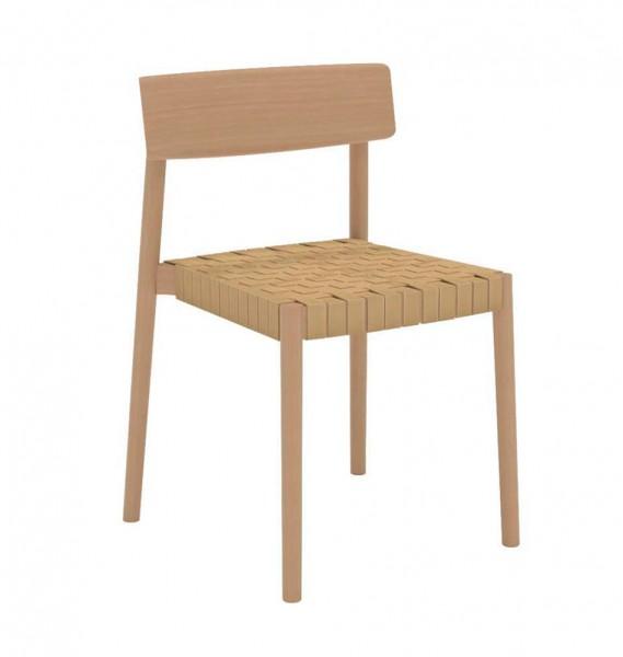 """Stuhl """"Smart"""" von Andreu World aus Holz"""