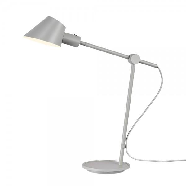 """Graue Tischlampe """"Stanley"""" - schwenkbar"""