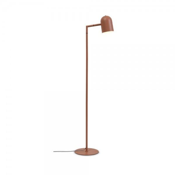 """Stehlampe """"Marisa"""" aus Eisen in der Farbe Rostrot"""