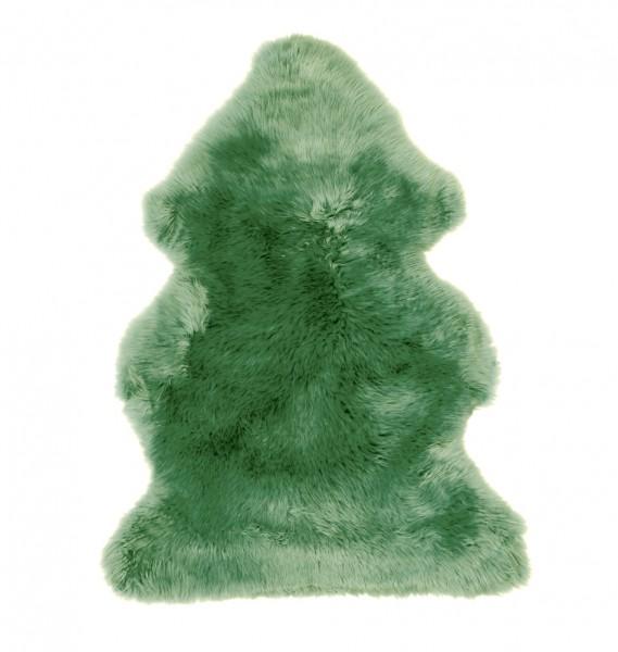 Lammfell, grün