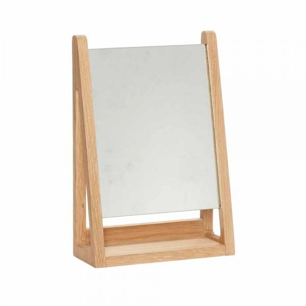 """Hübsch interior Tischspiegel """"Lilja"""" aus Eiche"""