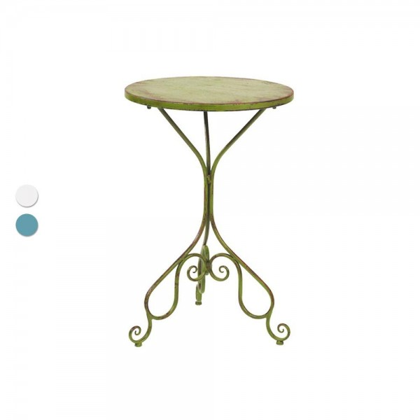 """Eisentisch """"Avignon"""" - charmantes Design mit Frankreich-Flair"""