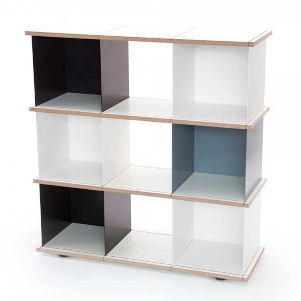 "Regalsystem ""Selvie"" – Bücherregal oder Raumteiler"