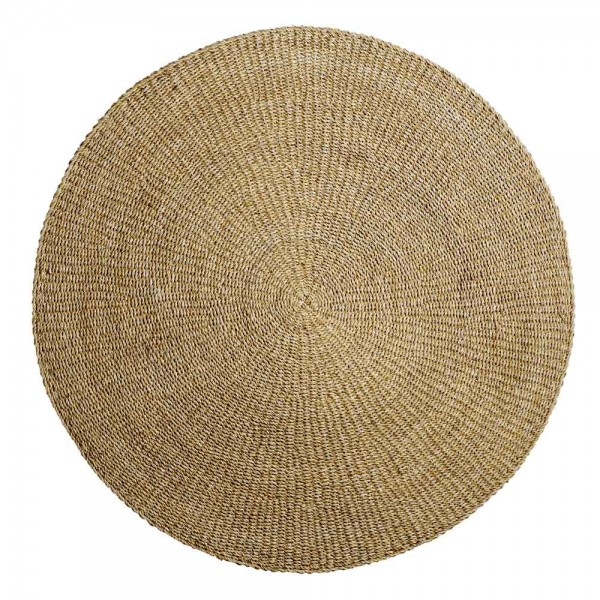 """Runder Teppich """"Liora"""" von Bloomingville - aus Seegras"""