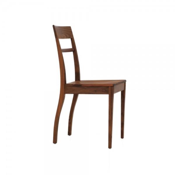 "ZEITRAUM Stuhl ""Blue Chair"" Massivholz"